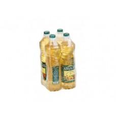 Подсолнечное масло АВЕДОВЪ, 1л, 4 упаковки