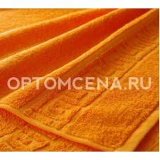 Махровое полотенце Туркменистан 70х140 оранжевое 400 гр/м2