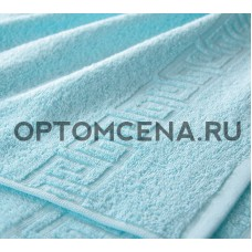Махровое полотенце Туркменистан 70х140 светло голубое 400 гр/м2