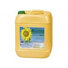 Подсолнечное масло MAZOLА для фритюра,10 л, 1 штука