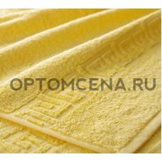 Махровое полотенце Туркменистан 50х90 желтое 400 гр/м2