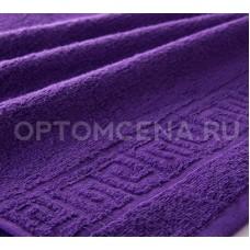 Махровое полотенце Туркменистан 70х140 фиолетовое 400 гр/м2