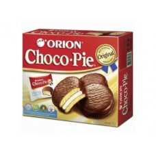 Пирожное CHOCO PIE Orion, 360г, 1 штука