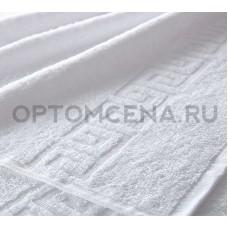 Махровое полотенце Туркменистан 50х90 белое 400 гр/м2
