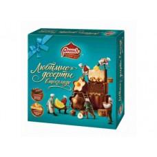 Конфеты шоколадные РОССИЯ Любимые Десерты, 176г, 1 штука