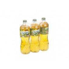Масло ОЛЕЙНА золотая рыбка, подсолнечное/оливковое, 1л, 3 штуки