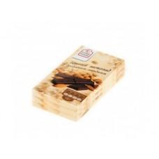Темный шоколад FINE FOOD горький с дробленым миндалем, 100г, 3 штуки