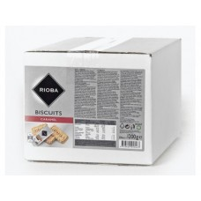 Печенье RIOBA карамельное порционное, 1200г, 1 упаковка