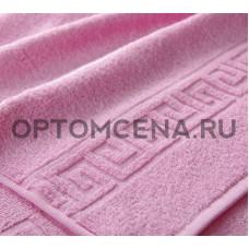 Махровое полотенце Туркменистан 40х70 светло розовое 400 гр/м2