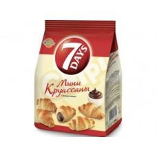 Круассаны 7 DAYS Мини с кремом какао, 200г, 1 штука