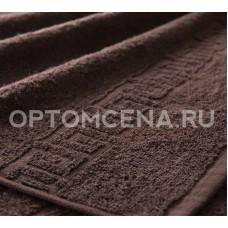 Махровое полотенце Туркменистан 50х90 коричневое 400 гр/м2