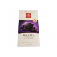Шоколад FREY Горький 78% какао, 100г, 1 штука
