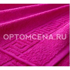 Махровое полотенце Туркменистан 40х70 малиновое 400 гр/м2