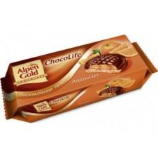 Печенье бисквитное ALPEN GOLD апельсин, 136г, 2 упаковки
