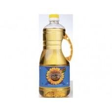 Подсолнечное масло ЗОЛОТАЯ СЕМЕЧКА, 1,8л, 1 штука