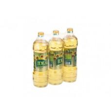 Подсолнечное масло IDEAL, 1л, 3 штуки