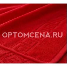 Махровое полотенце Туркменистан 40х70 красное 400 гр/м2