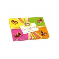 Ассорти конфет ALPEN GOLD из молочного шоколада, 142 г, 1 штука
