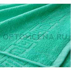 Махровое полотенце Туркменистан 40х70 светло зеленое 400 гр/м2