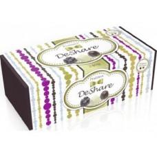 Конфеты DESHARE шоколадные с начинкой пралине ассорти, 240г, 1 штука