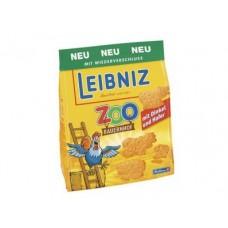Печенье LEIBNIZ Zoo сливочное, 125г, 1 штука