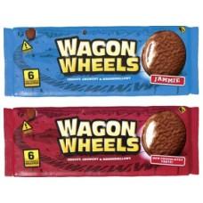 Бисквитное печенье WAGON WHEELS Original, 216г, 3 упаковки