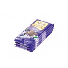 Шоколад ALPEN GOLD Черника с йогуртом, 90г, 1 штука
