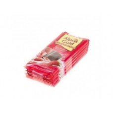 Шоколад ALPEN GOLD молочный с начинкой клубника с йогуртом, 90г, 5 штук