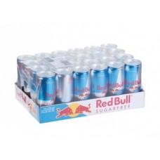 Энергетик RED BULL без сахара, 0,25л, 24 штуки