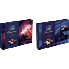 Конфеты ВДОХНОВЕНИЕ шоколадные паралине с орехами, 170г, 1 штука