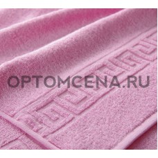 Махровое полотенце Туркменистан 50х90 светло розовое 400 гр/м2