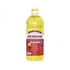 Подсолнечное масло АСТОН рафинированное дезодорированное, 1,8л, 1 штука