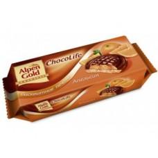 Печенье бисквитное ALPEN GOLD Клубника, 136 г, 1 упаковка