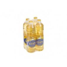 Подсолнечное масло ЗЛАТО рафинированное, 1кг, 4 штуки