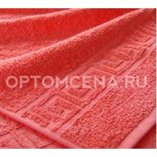 Махровое полотенце Туркменистан 70х140 коралловое 400 гр/м2