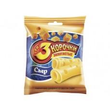 Сухари ТРИ КОРОЧКИ со вкусом сыра, 40г, 5 штук