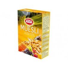 Мюсли AXA Фрукты-орехи, 375г, 1 штука