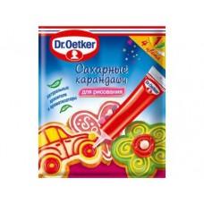 Карандаши сахарные DR. OETKER,76г, 1 штука