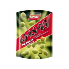 Арахис LORENZ в хрустящей оболочке из теста с васаби, 100г, 1 упаковка