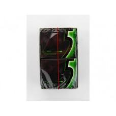 Жевательная резинка WRIGLEY S 5 electro мятный разряд, 31,2г, 10 штук