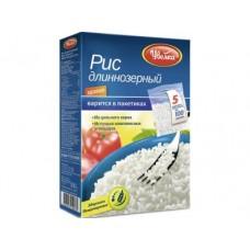 Рис длинный УВЕЛКА, в пакете, 100гх5, 2 коробки
