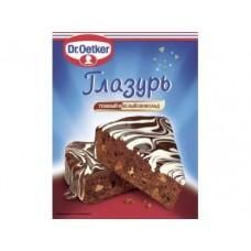 Глазурь DR. OETKER темный шоколад, 100г, 1 штука