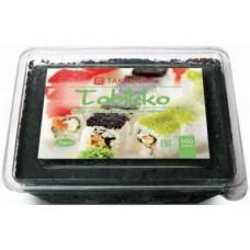 Икра Тобико TAKEMURA Премиум черная, 500г, 1 штука
