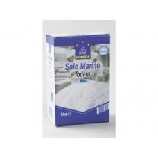 Соль HORECA SELECТ морская йодированная мелкая, 1кг, 1 штука