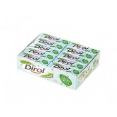 Жевательная резинка DIROL сладкая мята, 13,6г, 30 упаковок