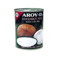 Молоко кокосовое AROY-D 60%, 400г, 1 штука