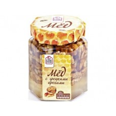 Мед FINE FOOD с грецкими орехами, 225г, 1 штука