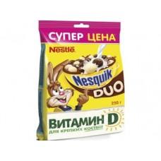 Готовые завтраки NESQUIK Duo пакет, 250г, 1 штука