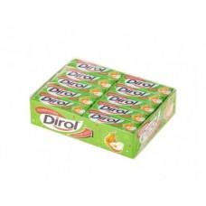 Жевательная резинка DIROL грушевый коктейль, 13,6г, 30 упаковок