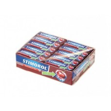 Жевательная резинка STIMOROL вишнёвый лёд,13,6г, 30 упаковок